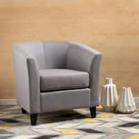 Preston Fabric Club Chair by Christopher Knight Home