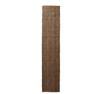 Safavieh Casual Natural Fiber Hand-Woven Natural Accents Chunky Thick Jute Rug (2'6 x 12')