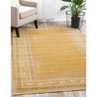 Yellow Tribeca Rug (4' x 6')