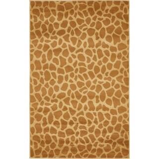 Safari Yellow Rug (3'2 x 5'2)