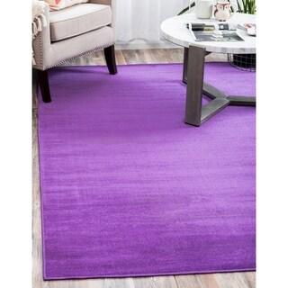 Violet Polypropylene Tribeca Rug (4' x 6')