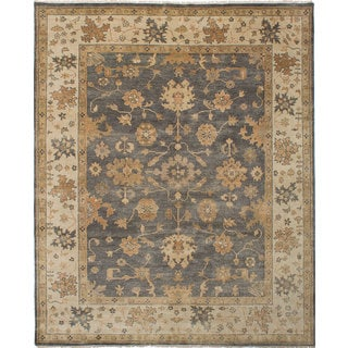 Ecarpetgallery Royal Ushak Grey Wool Rug (8'2 x 10'0)