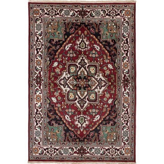 Ecarpetgallery Royal Heriz Red Wool Rug (6'0 x 8'11)