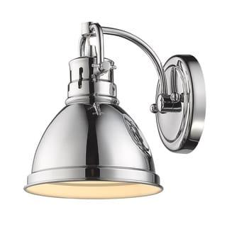 Golden Lighting Duncan Metal Shade 1-light Bath Vanity