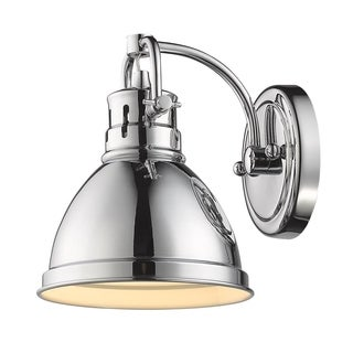 Golden Lighting Duncan Metal Shade 1-light Bath Vanity