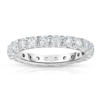Noray Designs 14k White Gold 1 7/8ct to 2 1/3ct TDW Diamond Eternity Band. (More options available)