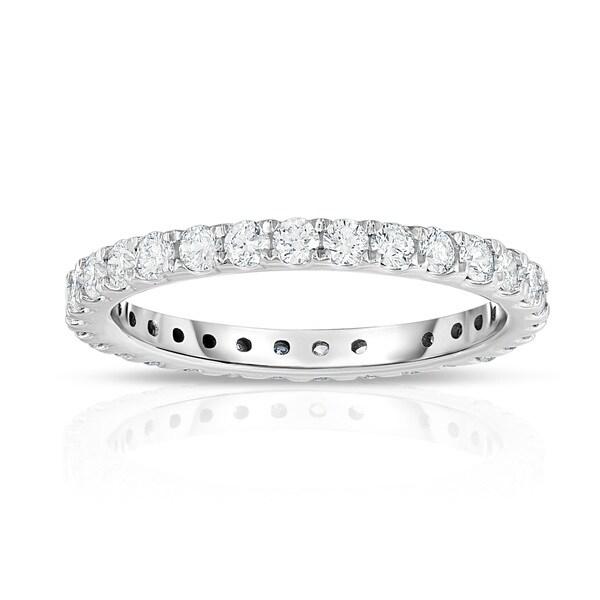 Noray Designs 14k White Gold 7/8ct TDW Diamond Eternity Ring