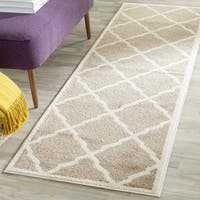 Safavieh Amherst Indoor/ Outdoor Wheat/ Beige Runner Rug - 2'3 x 15'