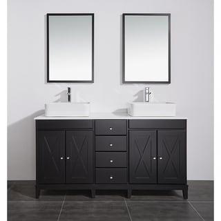 OVE Decors Aspen 60 in. Double Sink Bathroom Vanity