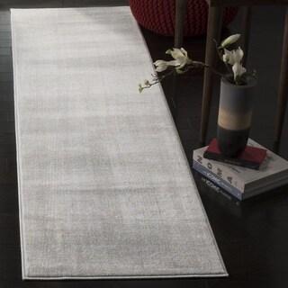 Safavieh Carnegie Vintage Light Grey/ Cream Runner (2' 3 x 12')