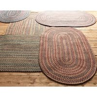 Comfort Braided Reversible Rug USA MADE - 6' x 8'
