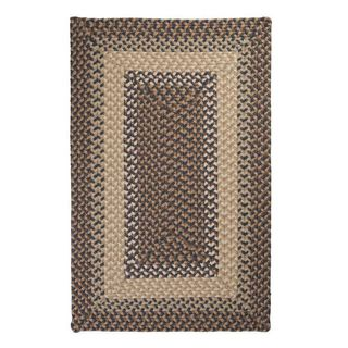 Boulder Cabin Multicolor Indoor/Outdoor Braided Rug USA MADE (Lakeside Blue 9 x 12)