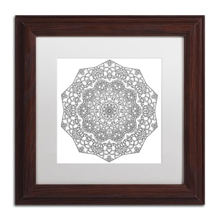 Kathy G. Ahrens 'Lover Mandala' Matted Framed Art