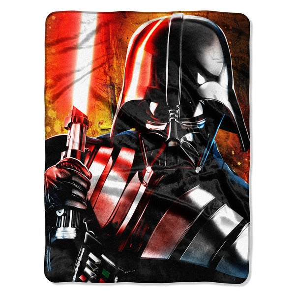 The Northwest Company Polyester Star Wars Classic Master of Evil Throw