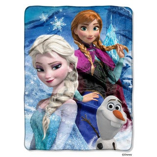 Northwest Company Frozen Ice Castle Throw Blanket