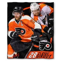 The Northwest Company NHL 575 Flyers Claude Giroux Silk Touch Throw