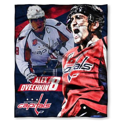 NHL 575 Capitals Alex Ovechkin Silk Touch Throw - Multi