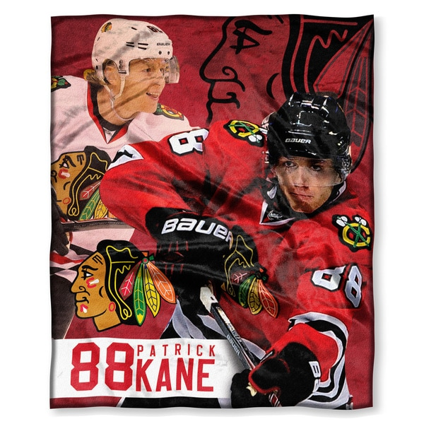NHL 575 Blackhawks Patrick Kane Silk Touch Throw