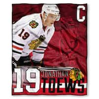 The Northwest Co NHL 575 Blackhawks Jonathan Toews Silk-touch Throw