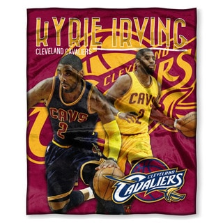 The Northwest Co NBA 575 Cavaliers Kyrie Irving Silk Touch Throw