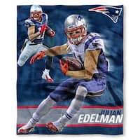 NFL 575 Patriots Julian Edelman Silk Touch Throw