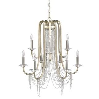 Golden Lighting Sancerre White Gold Finish 9-light Chandelier|https://ak1.ostkcdn.com/images/products/13307405/P20014692.jpg?_ostk_perf_=percv&impolicy=medium