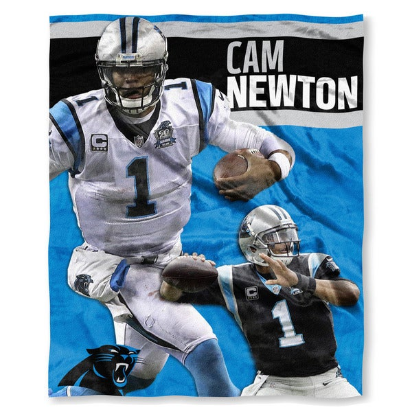The Northwest Co NFL 575 Panthers Cam Newton Silk Touch Throw