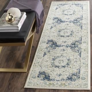 Safavieh Evoke Vintage Oriental Ivory/ Blue Runner (2' 2 x 15')