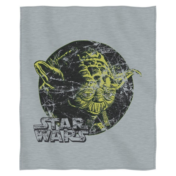 The Northwest Co ENT 099 Star Wars Classic 'At Peace' Multicolor COtton and Polyester Sweatshirt Throw