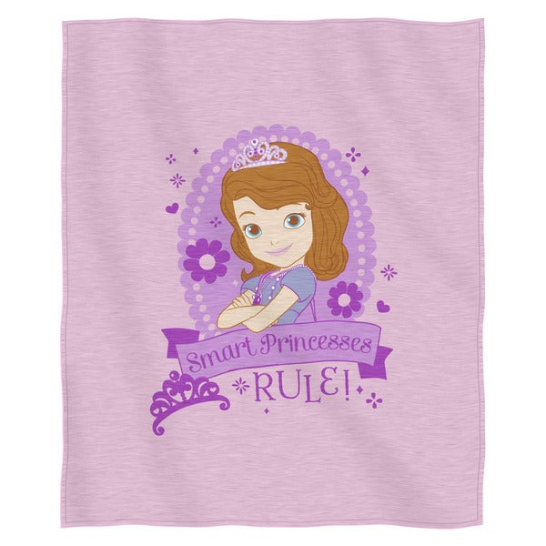 The Northwest Company ENT 099 Sofia The First-In Training Throw