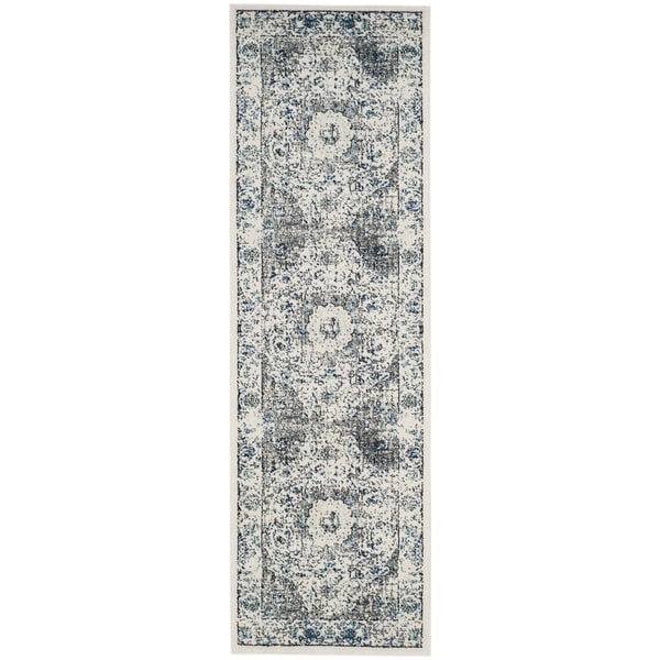 Safavieh Evoke Vintage Oriental Grey / Ivory Distressed Runner (2' 2 x 15')