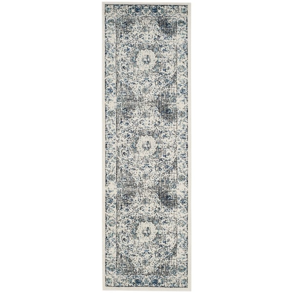 Safavieh Evoke Vintage Oriental Grey / Ivory Distressed Runner (2' 2 x 19')