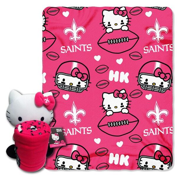 COK 027 Saints Hello Kitty with Throw