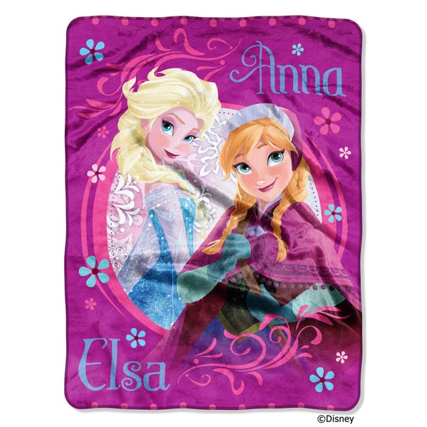 The Northwest Company ENT 059 Frozen Loving Sisters Throw