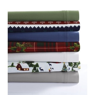Twill Cotton Flannel Pillowcase Set (Set of 2)