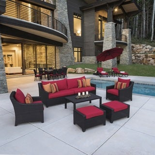 Deco Red 20-Piece Outdoor Patio Estate Set by RST Brands