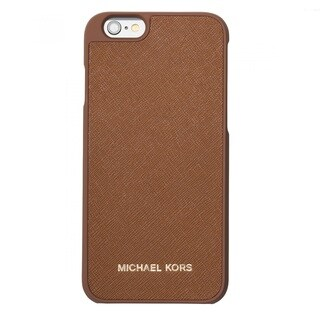 Michael Kors Letters Luggage Brown iPhone 6/6s Case