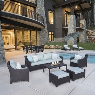 Deco Spa Blue 20-Piece Outdoor Patio Estate Set by RST Brands