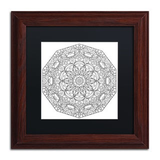 Kathy G. Ahrens 'Mixed Coloring Book 35' Matted Framed Art