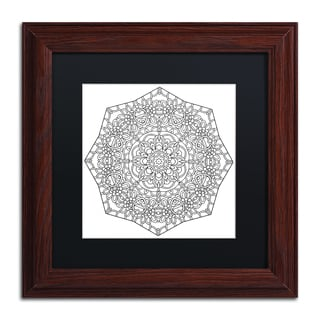 Kathy G. Ahrens 'Mixed Coloring Book 32' Matted Framed Art