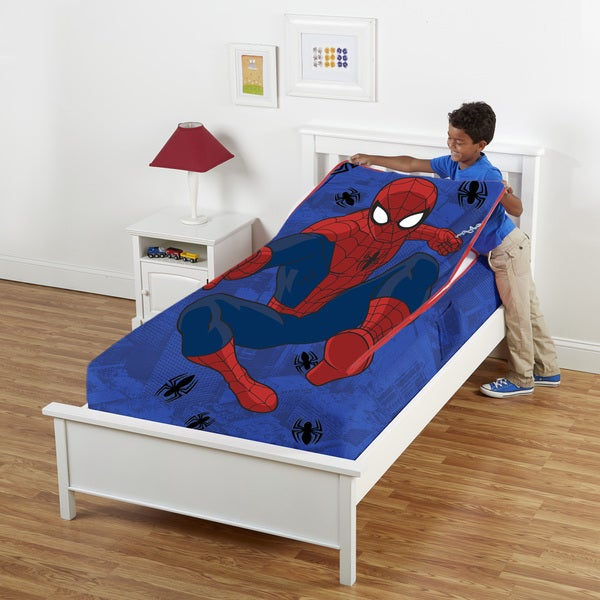 Marvel Spiderman Twin Zippy Sack