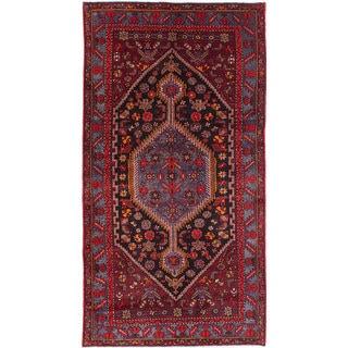 Ecarpetgallery Touserkan Red Wool Rug (4'8 x 9'1)
