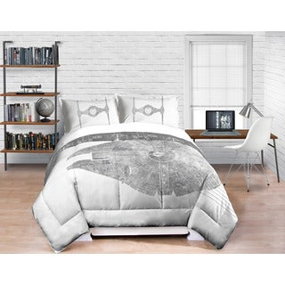 Star Wars 4-piece Bed in a Bag with Sheet Set