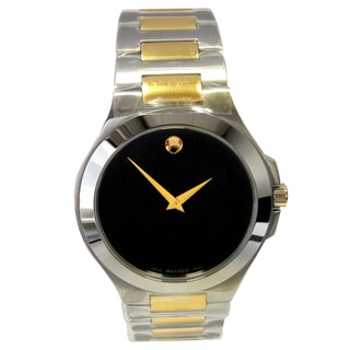 Movado Men's Steel Musuem Classic Pre-Owned Watch