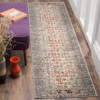 Safavieh Monaco Vintage Distressed Grey / Ivory Distressed Runner Rug - 2' 2 x 8'