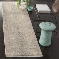 Safavieh Monaco Vintage Distressed Grey / Multi Distressed Runner Rug - 2' 2 x 12'