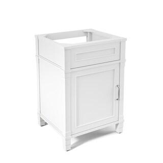 Alaterre Williamsburg 24-inch Wood Single Sink Bath Vanity