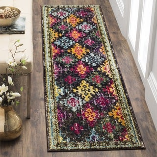 Safavieh Monaco Vintage Bohemian Multicolored Distressed Runner (2' 2 x 6')