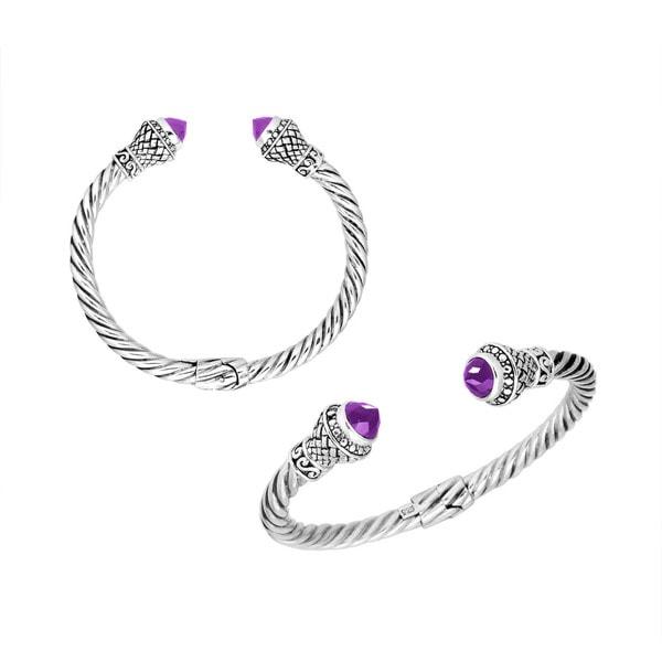 The Cheapest Price Silver Overlay Cuff Bracelet Bangel Fire Opal Handmade Jewelry Bracelets