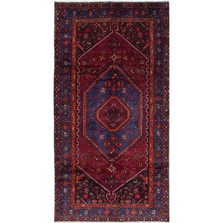 Ecarpetgallery Touserkan Red Wool Rug (4'9 x 9'3)